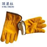 Handschoenen van het Lassen van het Leer van de Koe van 10.5 Duim de Gespleten met Ctc