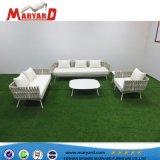 Durable Jardín Balcón Patio Resistace UV Cuerda Sofá Sofá reclinable muebles de exterior
