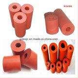 Rueda del rodillo del caucho de silicón con a prueba de calor flexible