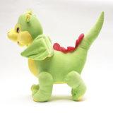 2017新しい到着は詰められた恐竜のプラシ天のおもちゃをカスタマイズした