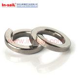 DIN127b 2~24 스레드 명목상 편평한 세탁기, 봄 세탁기 316의 Ss 의 자물쇠 세탁기
