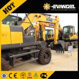 XCMG Excavadora de ruedas de 21 Ton xe210wb en venta