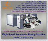 Cortadora auto de alta velocidad con la desenrolladora y Rewinder (DLFQW-1300D)