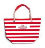 Toile de coton en nylon polyester Jean Papyrus de jute cuir synthétique Leat Hot vendre de nouveaux Design Fashion Week-end de l'épaule de la plage à cordonnet partie sac sacs à main