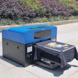A3 크기 6 색깔 직업 평상형 트레일러 인쇄 기계 무지개 제트기는 의복 인쇄 기계에 지시한다