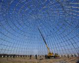Stahlrasterfeld-Zelle für große Überspannungs-Stahlgebäude