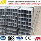 Q235熱い浸された電流を通された正方形の鋼鉄管