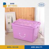 Multiusos 5L-170L Durable transparente de plástico apilables Caja de almacenamiento