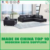 Sofás secionais da base moderna do sofá do escritório do couro genuíno