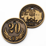 La promoción de la cabeza en 3D personalizadas Souvenir retrato Casino Metal monedas