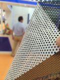 優れた等級のマイクロPerforado Vinilの一方通行の視野の単一の側面のステッカーの紫外線印刷
