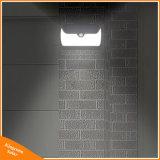 42 en el exterior de la luz solar LED Sensor de movimiento Jardin Lampara de pared con gran angular, diseño de iluminación