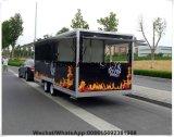 Omfloerst de Kokende TegenBestelwagen van de Verkoop van het Voedsel van het Sap van de Barbecue