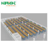 Bandeja de almacenamiento de prestaciones medias almacén de sistema de estanterías