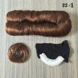 Short 27 parti dell'urto del tessuto dei capelli umani con chiusura libera