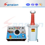 100kv appareil de contrôle de tension de fréquence de pouvoir de transformateur de C.C à C.A. 140kv