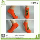Último projeto personalizado trampolim exclusivo meias com alça de Antiderrapagem