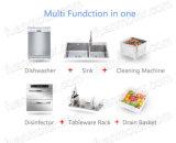 Lave-vaisselle multi de bassin de fonction dans un pour la cuisine