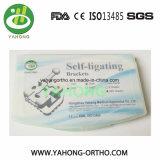 Auto ortodontico del materiale dentale che lega la FDA ISO13485 del Ce della parentesi del metallo