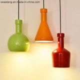 Крытый ресторан декоративная люстра подвесной светильник из алюминия