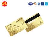En PVC blanc Carte Blanche Carte RFID avec bande magnétique (Échantillon gratuit)