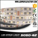 Montaje de aluminio ahuecado del canal del perfil de la protuberancia de la cubierta de la luz de tira del LED