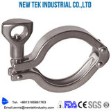Sanitaire ISO het Roestvrij staal van de Klem SS304 van de Metalen kap van Drie Segment