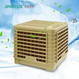 Refrigerador de ar evaporativo do grande fluxo de ar montado telhado e da descarga lateral