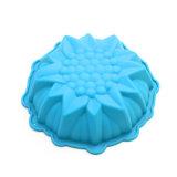 La FDA délivrent un certificat le moulage matériel de silicones de catégorie comestible, moulage de /Chocolate de moulage de pudding de silicones de moulage de gâteau de silicones de forme de tournesol
