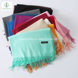 Fashion Long Plain Hijab熱い販売法の柔らかいカシミヤ織のショールの女性スカーフの卸売