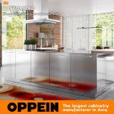 Gabinete de cozinha modular da mobília moderna quente da cozinha do aço inoxidável da venda 2017 (OP17-S30)