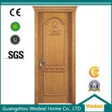 Madera de teca puerta principal Designs (WDP5053)