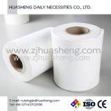 Nonwoven Spunlace Facicl Branco promocional do tecido de papel-toalha