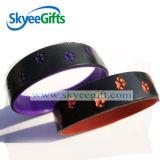 Wristband variopinto del silicone della Spruzzo-Vernice