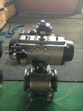 Actuador neumático con válvula de bola/válvula de mariposa, la acción individual/doble efecto