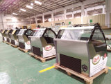 Congélateur d'étalage de crême glacée de la Simple-Température d'homologation de la CE/réfrigérateur de Gelato (QD-BB-10)