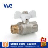 Robinet à tournant sphérique en acier modifié de traitement de guindineau (VG-A17302)