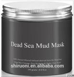 Máscara de lama negra do mar morto para porcas purificadoras