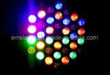 36 het LEIDENE PARI steekt Licht van de Partij van de Staaf van de Disco van het Effect RGB DMX512 DJ van de Verlichting van het Stadium aan
