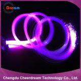 Enden-Glühen des PMMA Material-0.75mm fiberoptisch für Beleuchtung