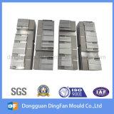 Piezas de acero modificadas para requisitos particulares de la pieza del CNC que trabajan a máquina para el molde de la pieza inserta
