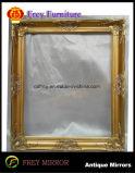 Mão esculpida em madeira espelho / Picture Frame Antique