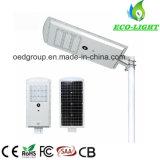 IP65 à prova integrada 50W Jardim Estrada Solar Luz de Rua LED