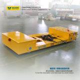 Il carrello ferroviario elettrico di trasferimento motorizzato iso Cart in workshop