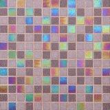 Бежевый стеклянной мозаики для кухни и ванной