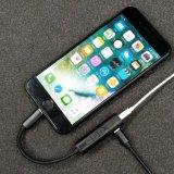 Молния к заряжателю переходники кабеля Jack наушников 3.5mm на iPhone 7 & 7 добавочное