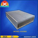 Dissipatore di calore della lega di alluminio di Coolling dell'aria 6063 per la comunicazione di radiodiffusione