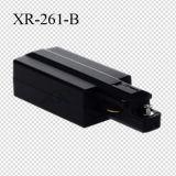 Blanc/noir/gris 1 prise d'alimentation de piste de fils de la phase 2 (XR-261)