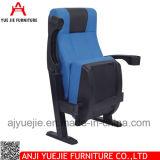 단순한 설계 컵 홀더 Yj1804r를 가진 빨간 플라스틱 영화 의자