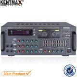amplificateur stéréo de panneau de fer de glissières 80W 2 pour le club (AV-808FM)